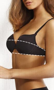 Как узнать какой размер груди: 1, 2, 3. Как правильно снимать мерки