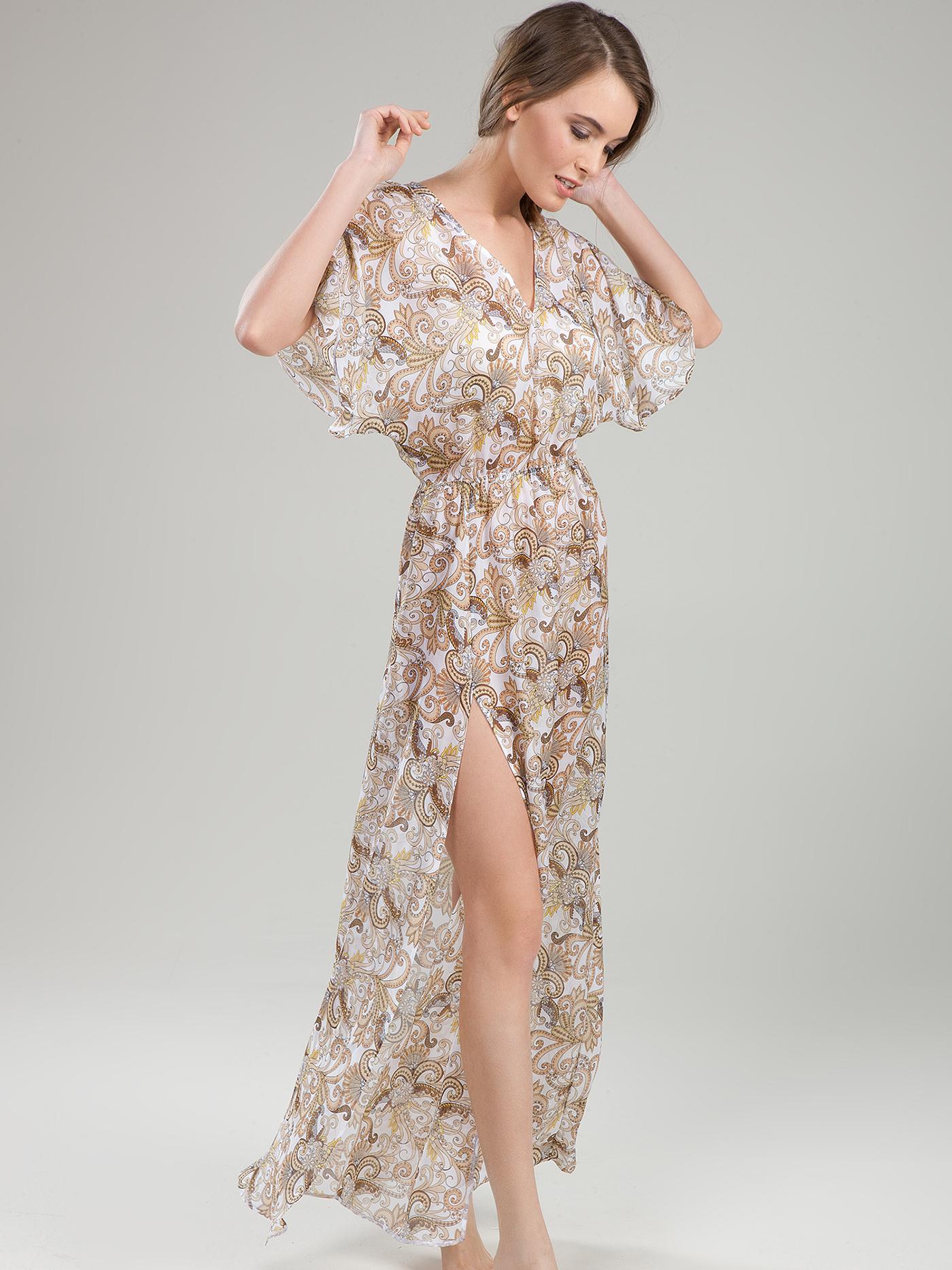 Платье croisette blue romance beachБюстье<br>платье<br><br>Цвет: Принт пейсли белый<br>Декор: Без декора<br>Стилистика: Без стилистики<br>Направление: Бюстье<br>Пол: Женский<br>Материал: 100% ШЕЛК<br>Размер: 1