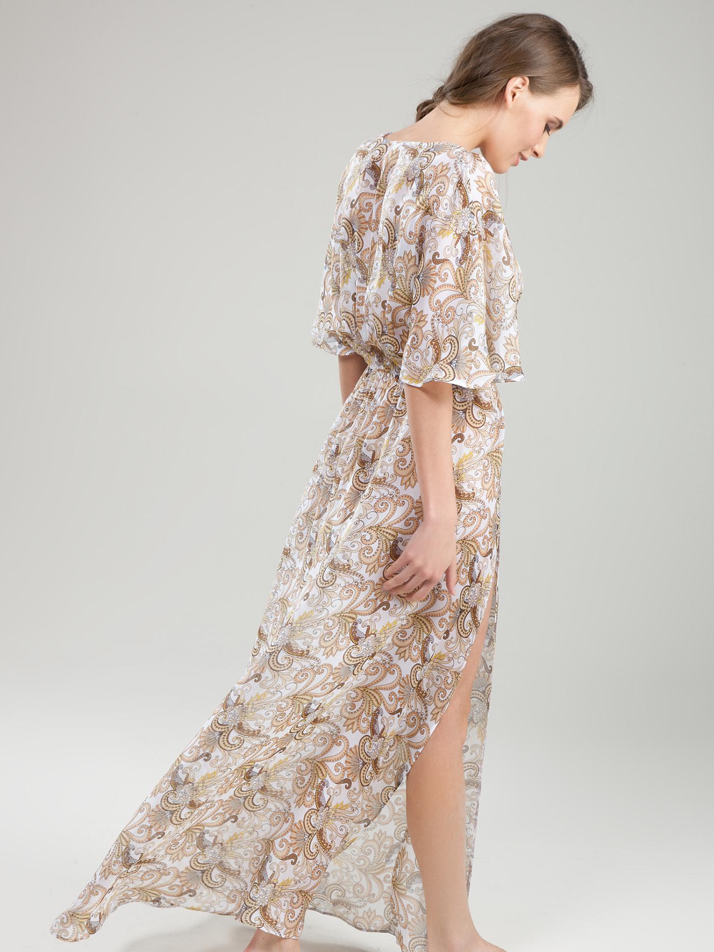 Платье croisette blue romance beachБюстье<br>платье<br><br>Цвет: Принт пейсли белый<br>Декор: Без декора<br>Стилистика: Без стилистики<br>Направление: Бюстье<br>Пол: Женский<br>Материал: 100% ШЕЛК<br>Размер: 2